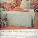 1961 Beautyrest by Simmons mattress  ad (#5882)