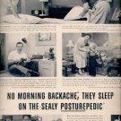 1960  Sealy Posturepedic mattress    ad (#5841)