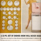 1960 General Electric dishwasher     ad (#5829)