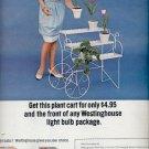 1966  Westinghouse light bulbs  ad (#5805)