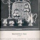 1960 International Sterling tea set and candelabra ad (#5734)