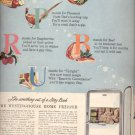 Dec. 1945  Westinghouse Refrigerators and Home freezers  ad (# 5140)