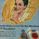 1948  Lucky Strike    cig. ad ( # 738)