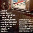 1971  Zenith Chromacolor ad ( # 3181)