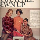 Sept. 1968  Neatniks have it all sewn up   ad (#117)