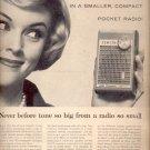 1960  Zenith Pocket Radio ad (# 5202)