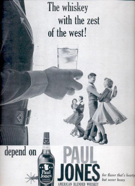 1960  Paul Jones American Blended Whiskey ad (#5418)