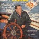 1957   Camel Cigarette with Richard Bertram ad (# 4681)