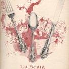 1964  La Scala by Gorham Sterling ad (# 5023)