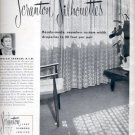 1957 Scranton Silhouettes draperies  ad (# 4831)