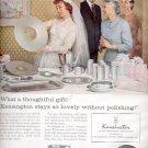 1957     Kensington- Metal that looks like silver  ad (# 4803)