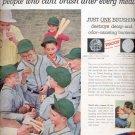 1957  Gleem toothpaste  ad (# 5011)