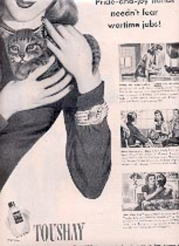 1944  Toushay Lotion ad (# 3061)