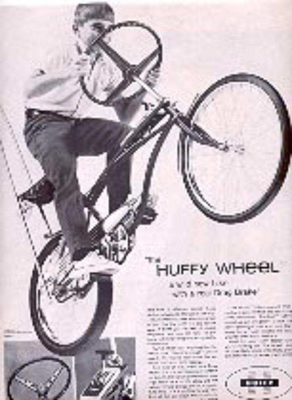 1968  Huffy Wheel Bike ad (# 3096)