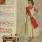 1957  Singer Sewing Centers ad (# 1152)