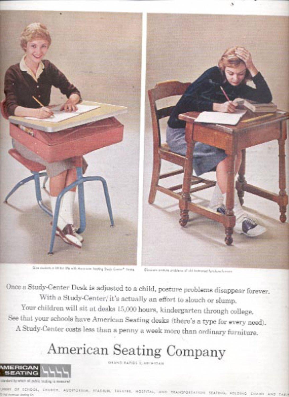 1960  American Seating Company   ad (#5472)