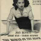 1947 'The Woman on the Beach'  movie   ad  (#1141)