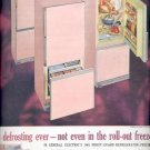 1961   General Electric Refrrigerator- Freezer ad (#4288)