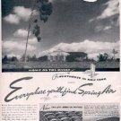 1939 Spring-Air Mattrress ad (#  2717)