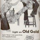 1945   Old Gold Cigarettes   ad (# 5221)
