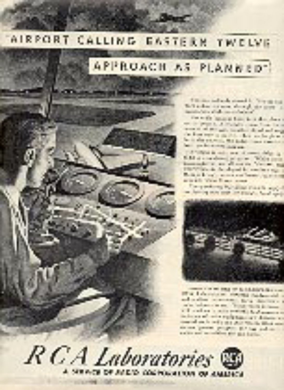 1943  RCA  Laboratories ad (# 3137)