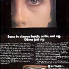 1975  Hitachi TV  ad ( # 1528)