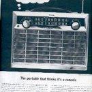 1962 General Electric Radio ad (#  2116)