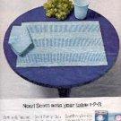 1963  Scott Placemats, Cups, Napkins ad ( # 3037)