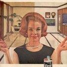 1963 Klear's Floor Wax ad ( # 2324)