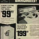 1966  General Electric Dryer and Washer  ad ( # 1312)