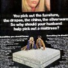 1970  Sealy Posturepedic ad ( # 2941)