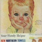 1961  Northern Towels ad (# 1180)