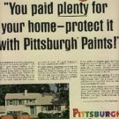 1965 Pittsburgh Paints ad (  # 888)