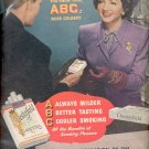 1946 Chesterfield Cigarettes with Claudette Colbert  ad (# 4468)