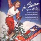 1940    Chesterfield Cigarette  ad (# 4394)
