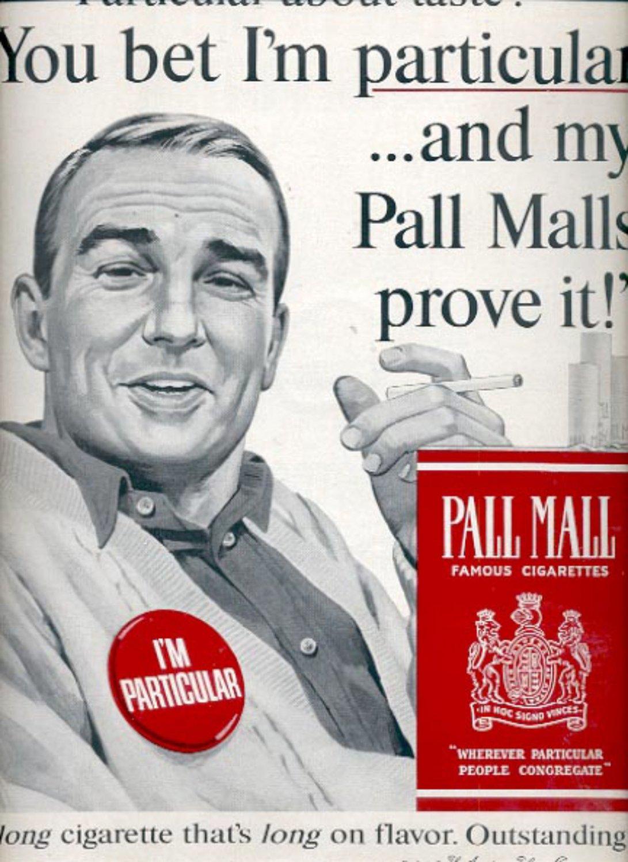 1964  Pall Mall Cigarettes  ad (#5397)