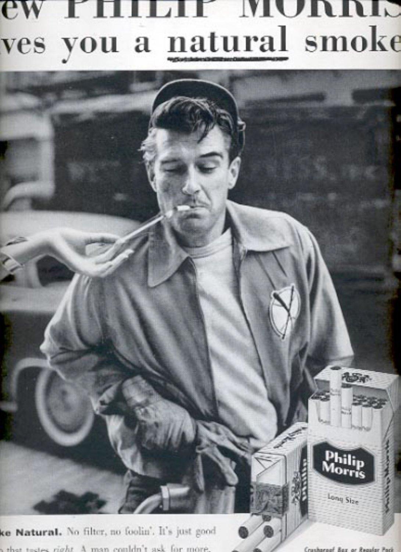 1957  Philip Morris Cigarettes   ad (# 4974)