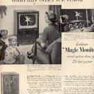 1952  RCA Victor  TV ad (   # 1897)