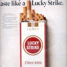 1967  Lucky Strike Cigarettes  ad (# 4575)