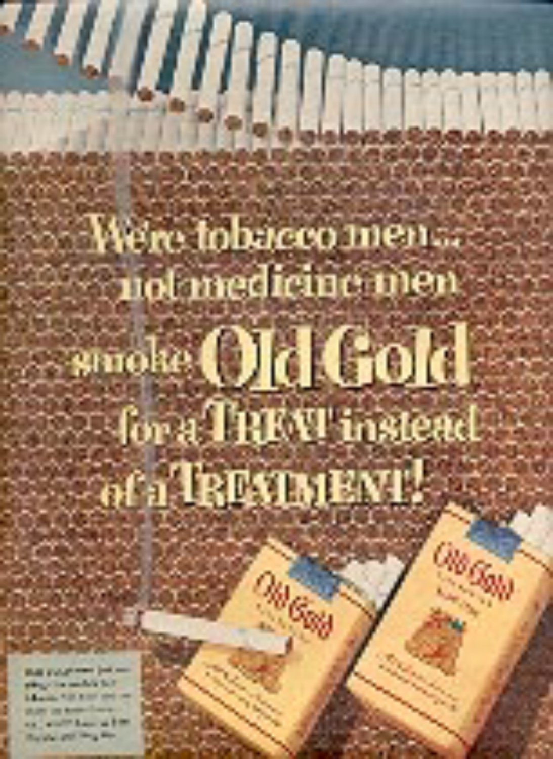 1953 Old Gold    ad (# 1818)