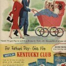 1952  Kentucky Club  pipe tobacco ad (# 1109)
