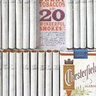 1962    Chesterfield   King cig. ad ( # 2027)