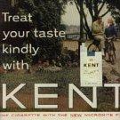 1963  Kent     cig.  ad ( # 1318)