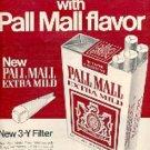1972 Pall Mall   Extra Mild cig.  ad (#  1881)