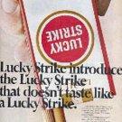 1967 Lucky Strike   cig.   ad ( # 3248)