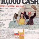 1971  Winston   Cigarette   ad ( # 1519)