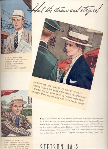 May 24, 1937   Stetson hats      ad  (# 6646)