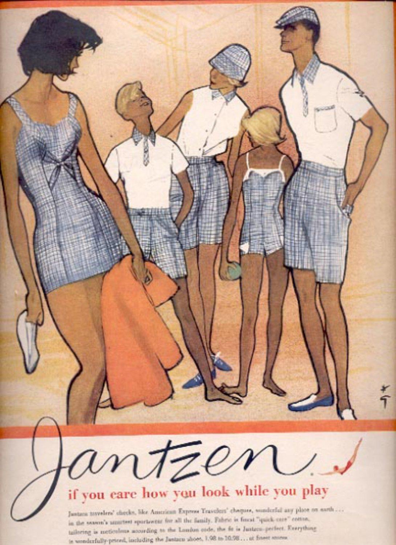 1959   Jantzen sportswear   ad (#5561)