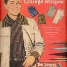 1957  Tom Sawyer Apparel for real boys  ad (# 4642)