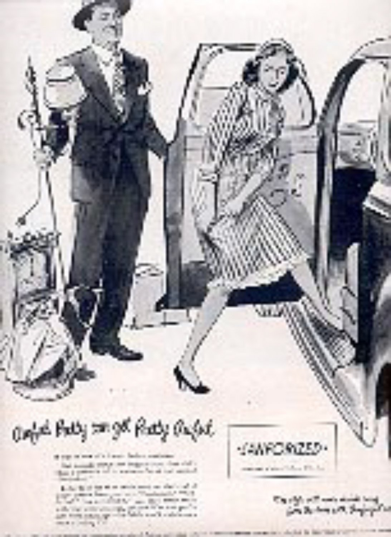 1948  Sanforized   magazine   ad (# 2999)